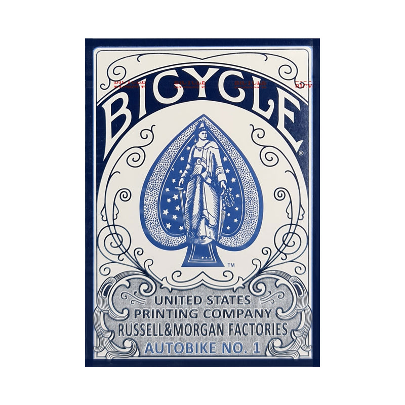 Bicycle Autobike No. 1 Blue Playing Cards