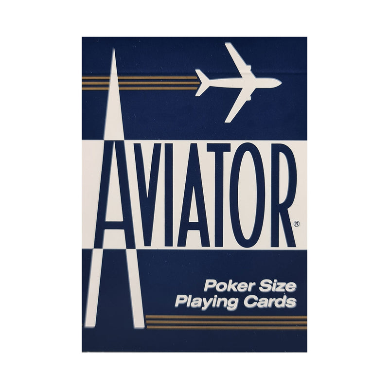 Aviator Standard Blue Playing Cards