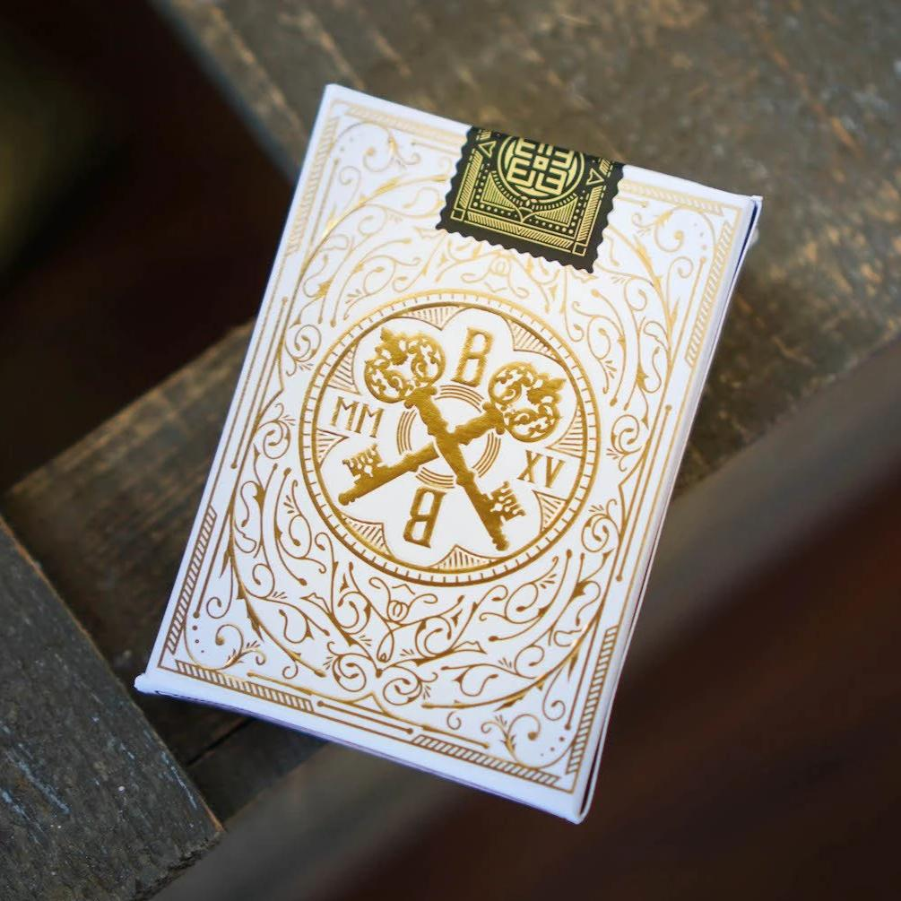 Arcana White Playing Cards
