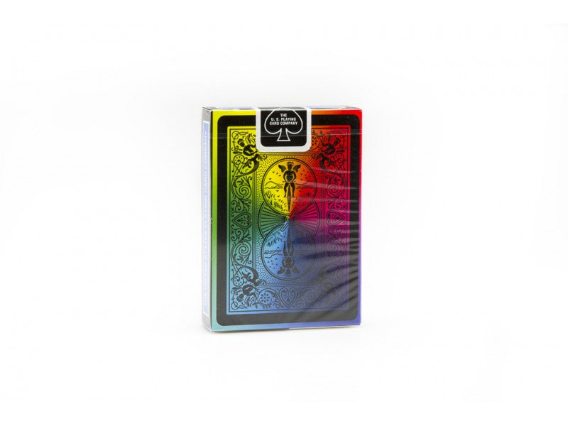Bicycle Rainbow Black Playing Cards