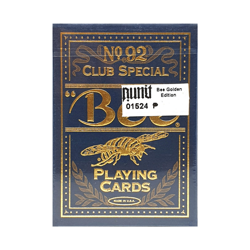 Bee Golden Edition Playing Cards