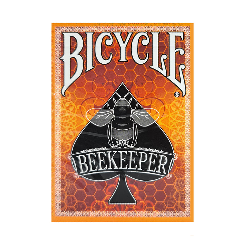 Bicycle Beekeeper Orange Playing Cards