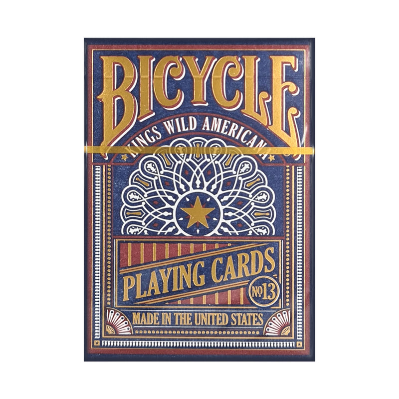 Bicycle Kings Wild Americana Gilded Edition Playing Cards