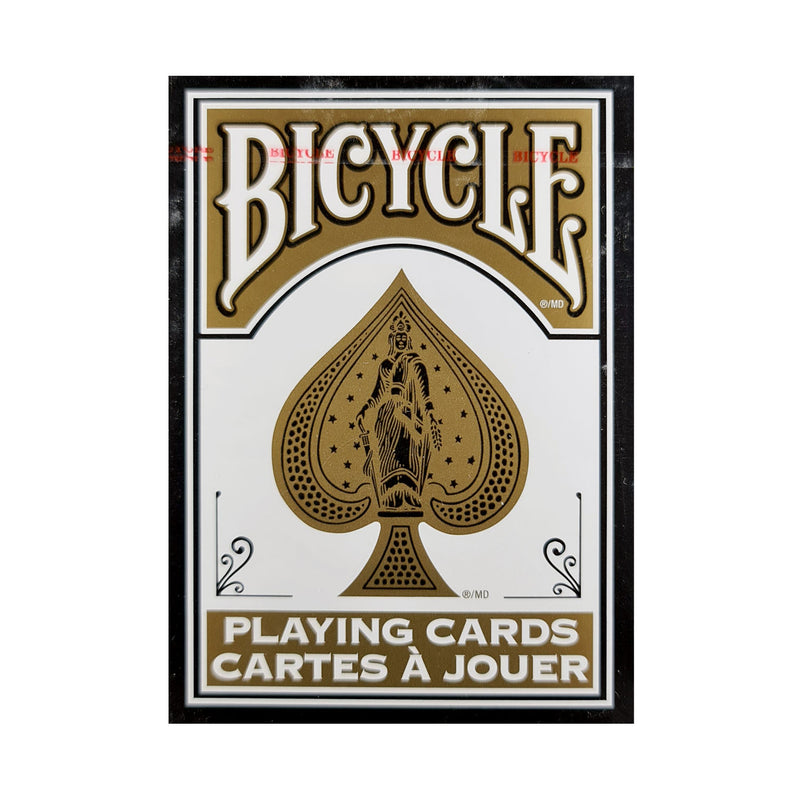 Bicycle Fashion Black and Gold Playing Cards