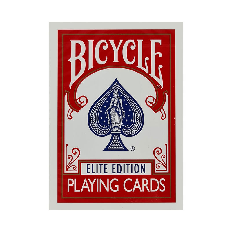 Bicycle Elite Edition Red Playing Cards