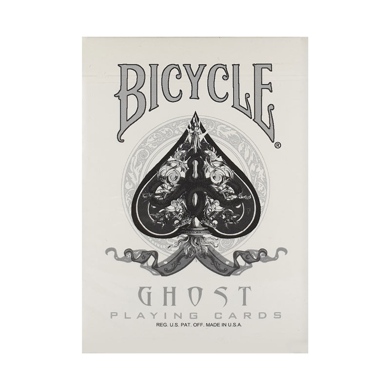 Bicycle Ghost  (UV500) Playing Cards