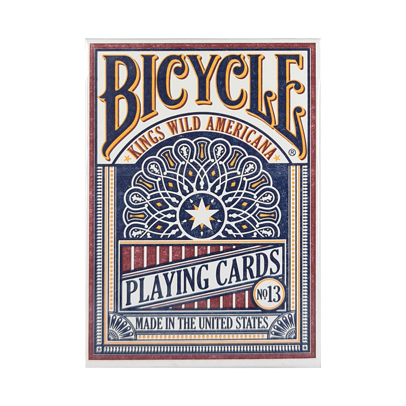 Bicycle Kings Wild Americana Playing Cards