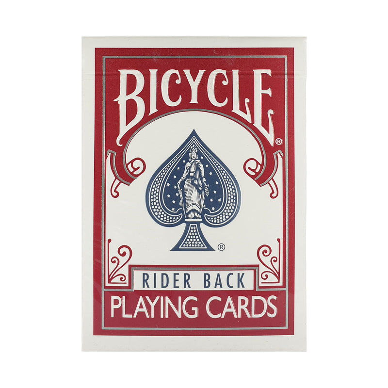 Bicycle Titanium Red Playing Cards