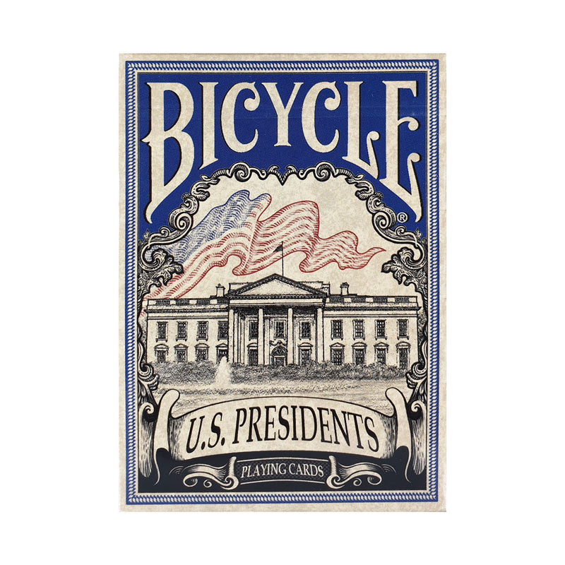 Bicycle US Presidents Blue Playing Cards