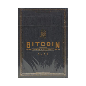 Bitcoin Black (Marked) Playing Cards