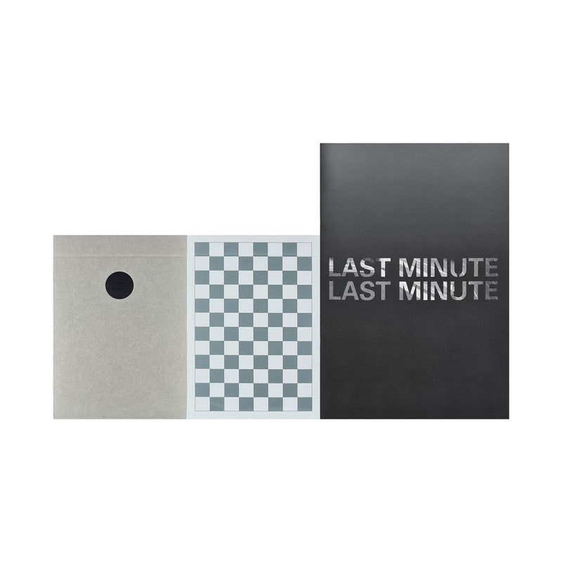 Dot Black + Grey Checkerboard  Playing Cards + Last Minute II Zine