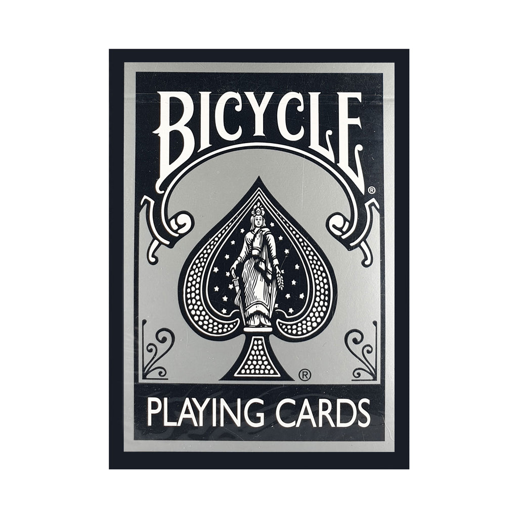 Bicycle Fashion Black Silver (Ohio) Playing Cards