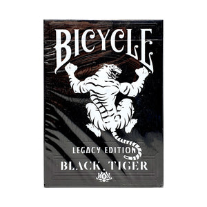 Bicycle Black Tiger Legacy Edition Playing Cards