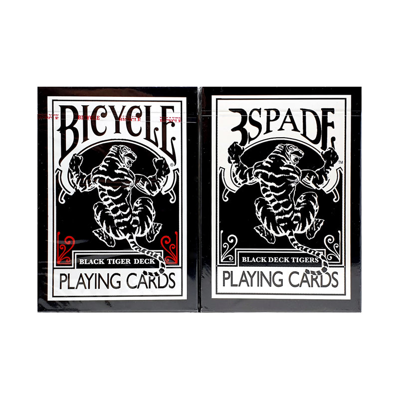 Bicycle Black Tiger Gaff Set Playing Cards