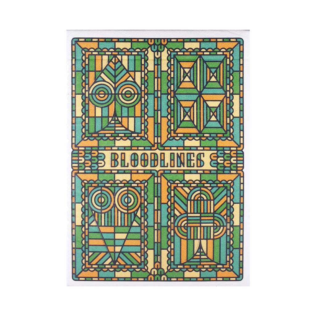 Bloodlines Green Playing Cards