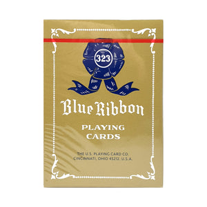 Blue Ribbon Reprint Red Playing Cards
