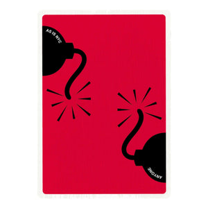 Bomb Playing Cards