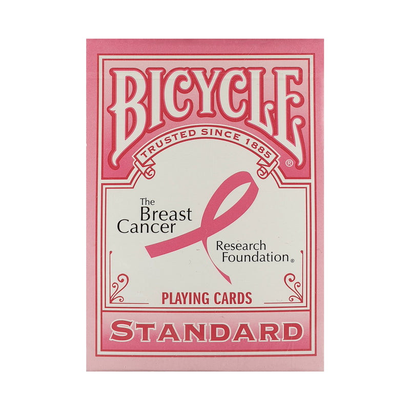 Bicycle Pink Ribbon Playing Cards