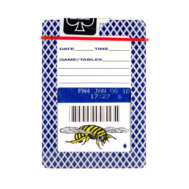 Bee Bumble Blue (Ohio) Playing Cards