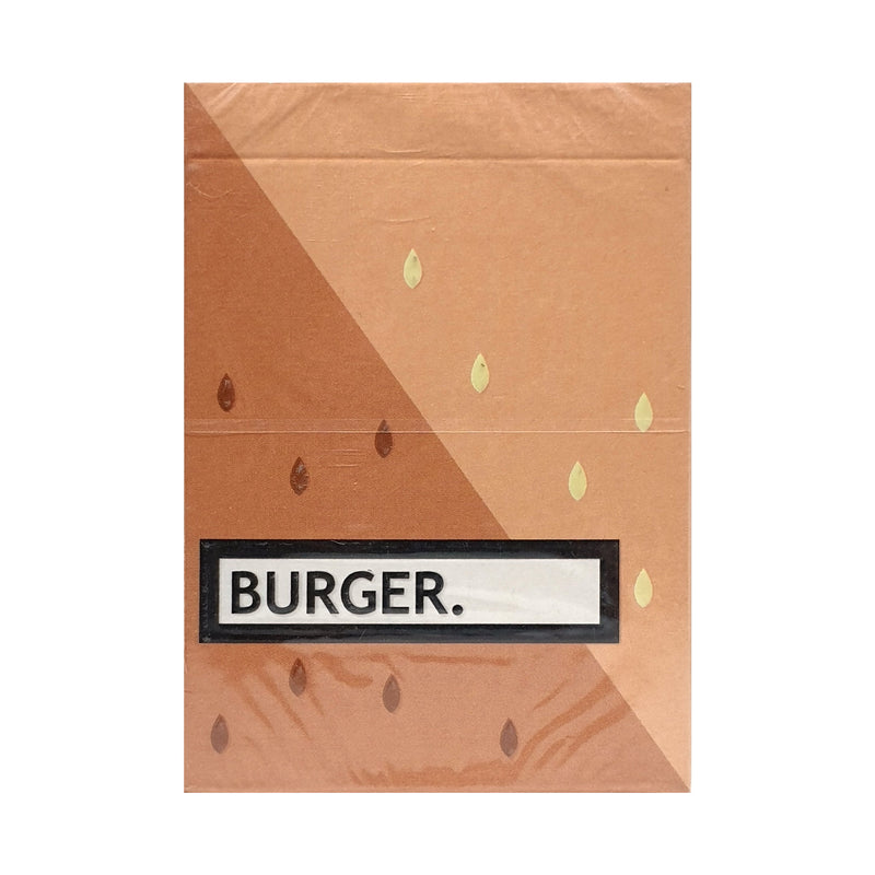 Burger Playing Cards