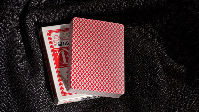Bee Standard Red Playing Cards