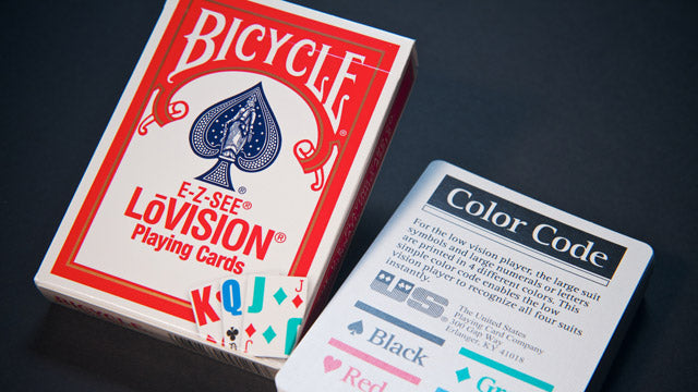 Bicycle LoVision Blue Playing Cards