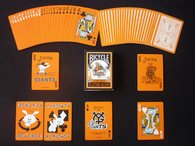 Bicycle Yomiuri Giants White Playing Cards