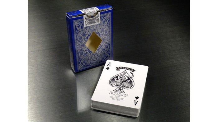 Legends V2 Blue Playing Cards