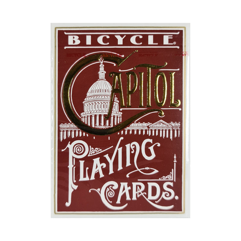 Bicycle Capitol Red Playing Cards