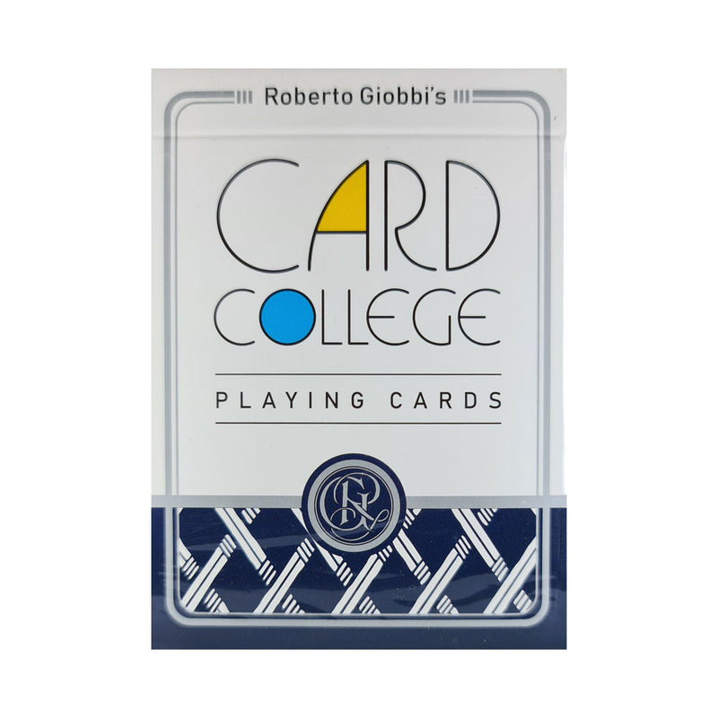 Card College Standard Edition Blue Playing Cards