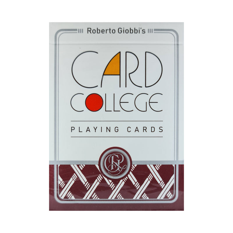 Card College Standard Edition Red Playing Cards