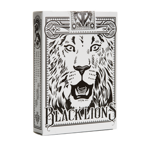 Black Lions Seconds Playing Cards
