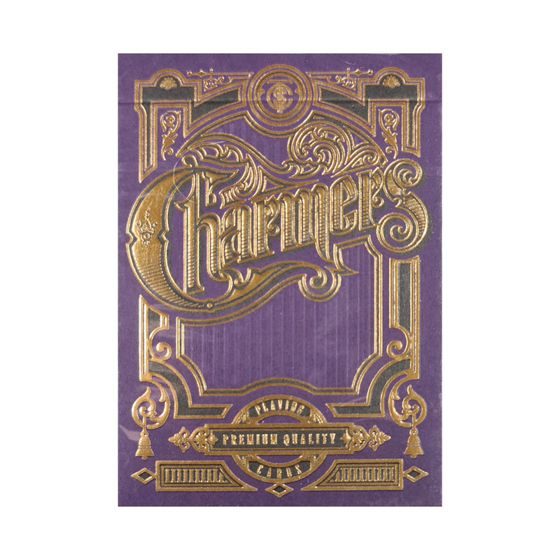 Charmers Purple Playing Cards