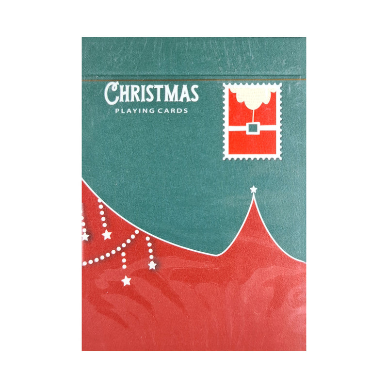 Christmas Green Playing Cards