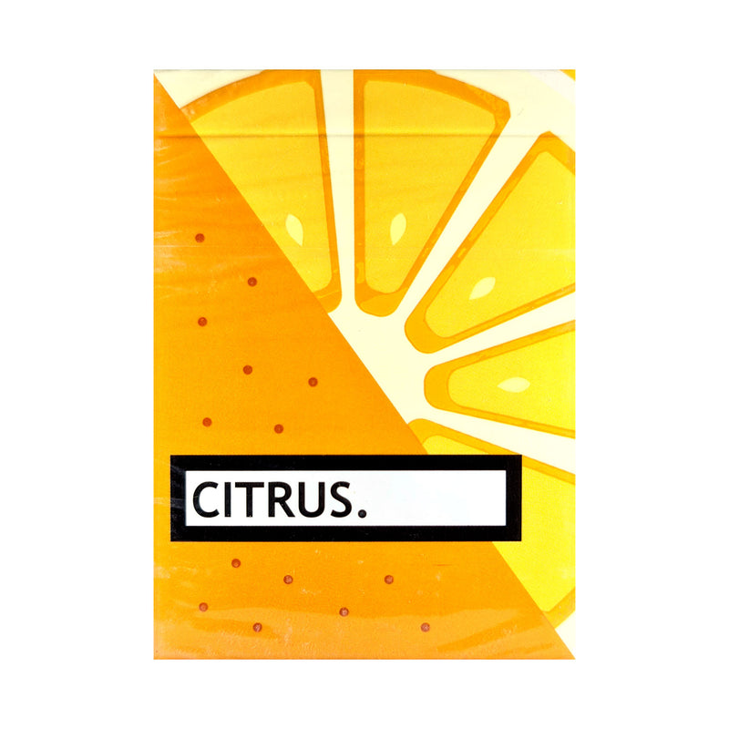 Citrus Playing Cards