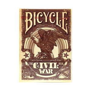 Bicycle Civil War Red Playing Cards