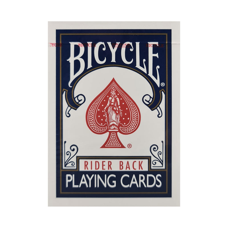Bicycle Classic Rider Back Blue Playing Cards