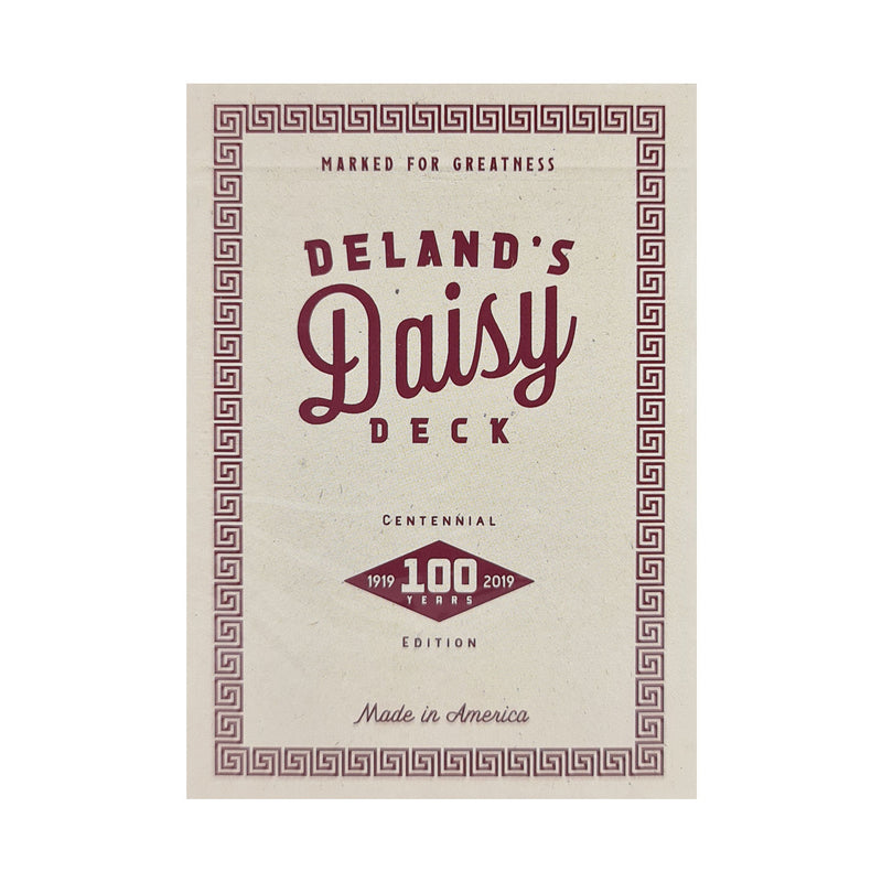 DeLand's Centennial Edition Daisy (Marked) Playing Cards