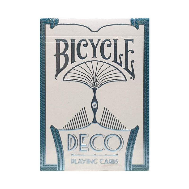 Bicycle Deco White Playing Cards