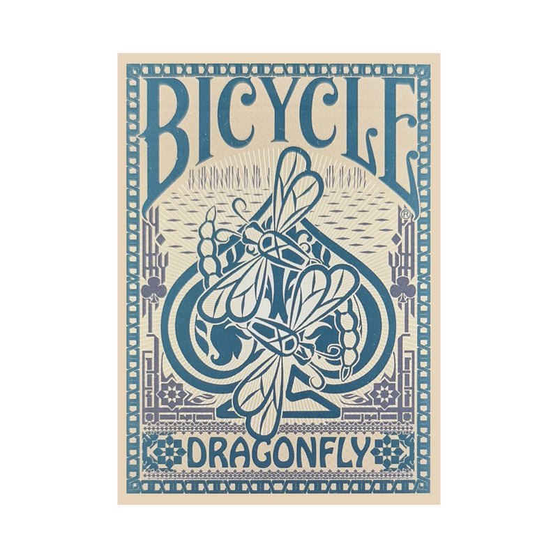 Bicycle Dragonfly Tan Playing Cards