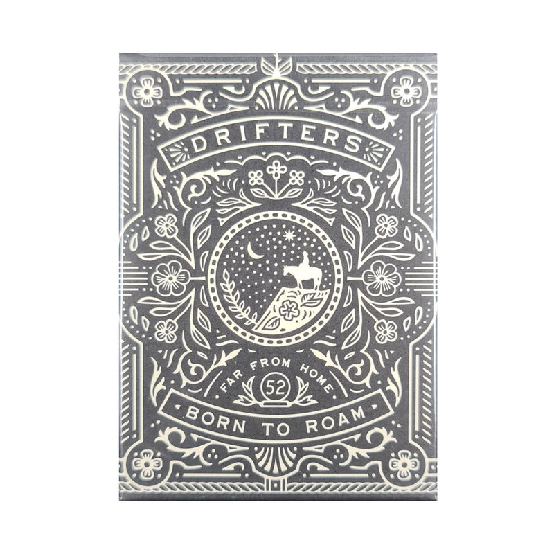 Drifters Black Playing Cards