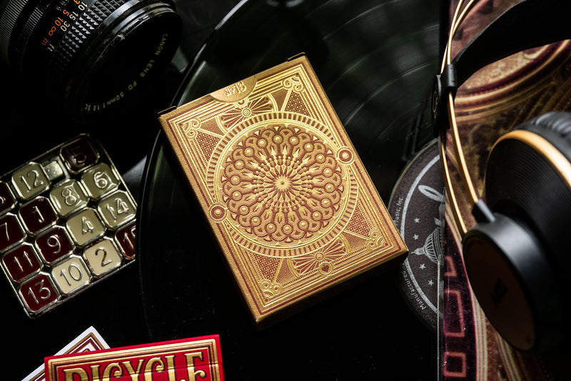 Bicycle Scarlett Gilded Edition Playing Cards