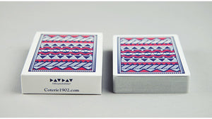 fat boy eat all day Aztec Playing Cards