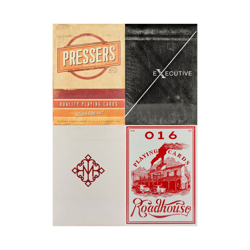 Ellusionist Set 2 (4 Decks) Playing Cards