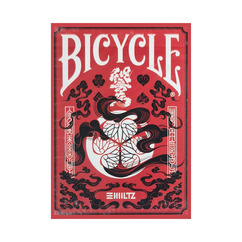 Bicycle Edo Karuta Red Playing Cards