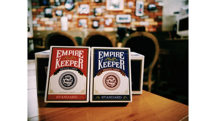 Empire Keeper Blue Playing Cards
