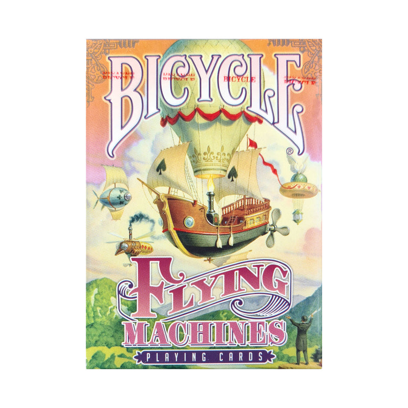 Bicycle Flying Machines Red Playing Cards