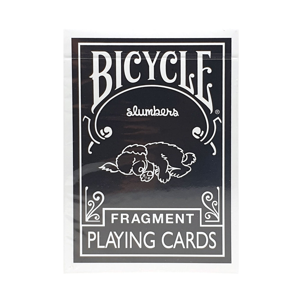 Bicycle Fragment Black Playing Cards