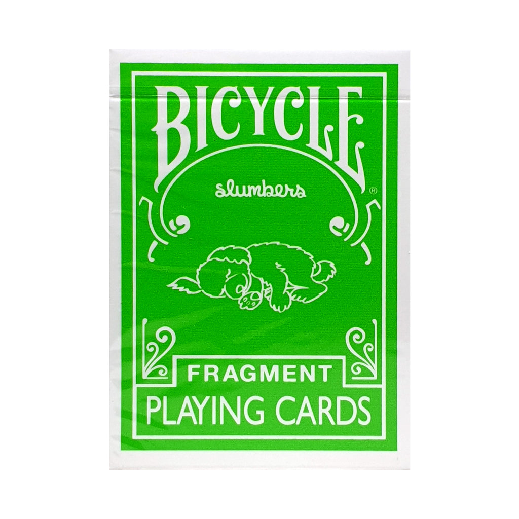 Bicycle Fragment Green Playing Cards