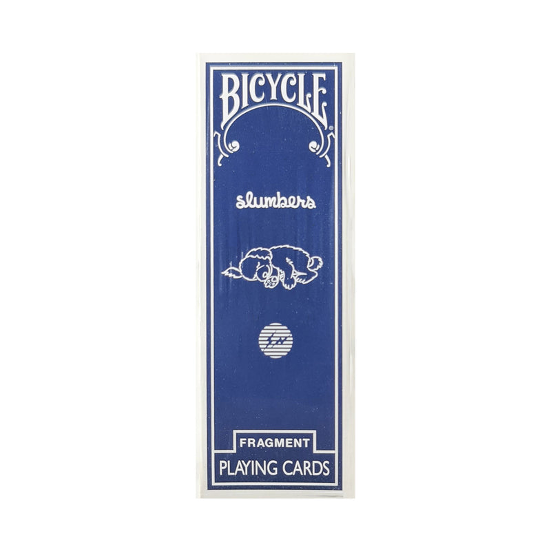 Bicycle Fragment Skinny Blue Playing Cards